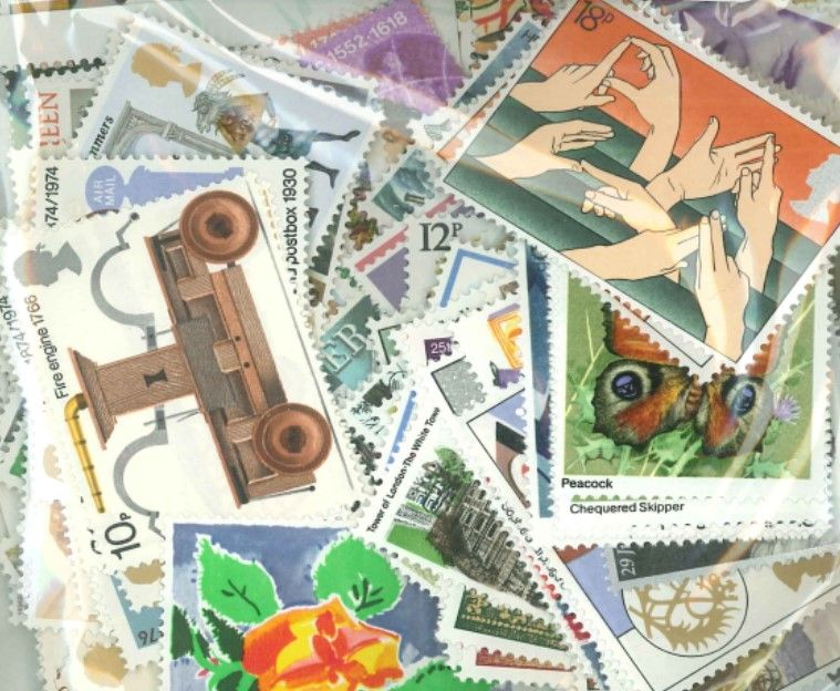 £100 Face Value - Stamps for Postage