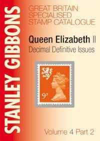 GREAT BRITAIN SPECIALISED VOLUME 4 PT2 STAMP CATALOGUE
