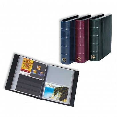 Postcard Album With 50 Clear Pockets