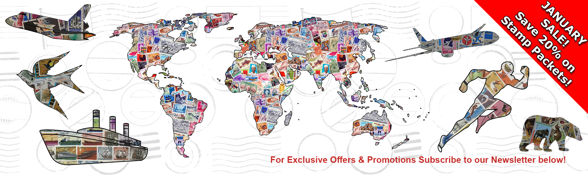 Worldwide and Thematic Stamps